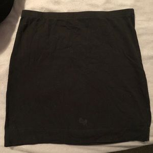 Black H&M mini skirt